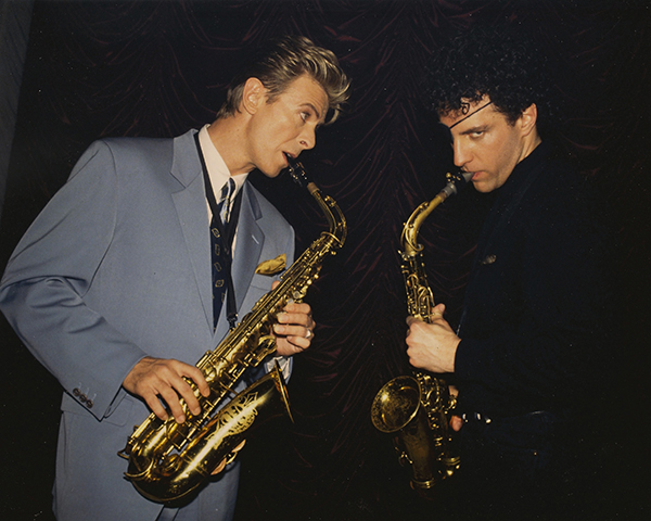 Dan with David Bowie